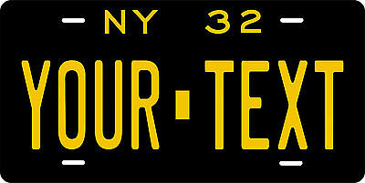 New York 1932 License Plate Personalized Custom Car Bike Motorcycle Moped Tag