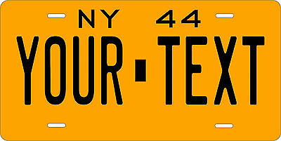 New York 1944 License Plate Personalized Custom Car Bike Motorcycle Moped Tag
