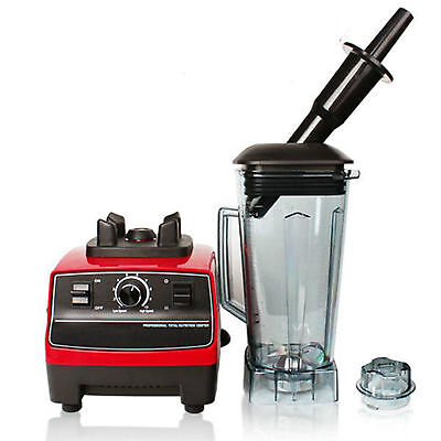 New German Commercial 3HP Blender Mixer 2L HEAVY DUTY Ice Crusher 2200W - Red