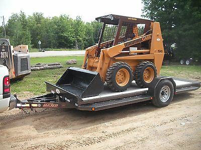 Case 1840 Skid Steer Loader Combo