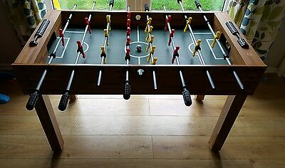 4Ft X 2Ft Free-Standing Wooden Table Football Soccer Game