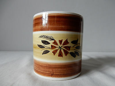 Attractive Vintage Toni Raymond Pen/Pencil or Small Utensil Pot/Holder '70s VG