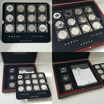 The Fabulous 15 (2012) One Ounce Silver Coin Set (Complete)