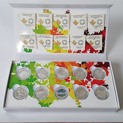 2014 Canada $10 O Canada Series Royal Canadian Mint Set