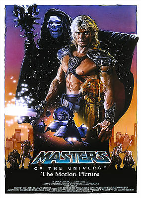Masters of the Universe (1987) - A2 A3 A4 POSTER *LATEST BUY 1 GET 1 FREE OFFER*