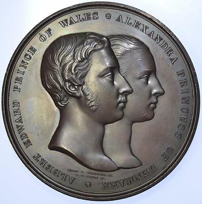 Queen Victoria - 1863 Marriage of Prince of Wales and Princess Alexandra by Wyon