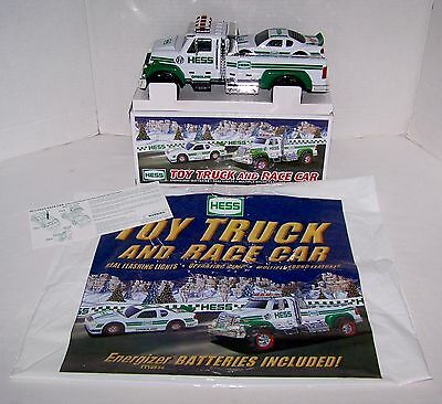 2011 ~ Hess Toy Truck And Race Car ~ Nib