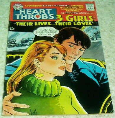 Heart Throbs 109, (FN+ 6.5) 1967, 35% off Guide