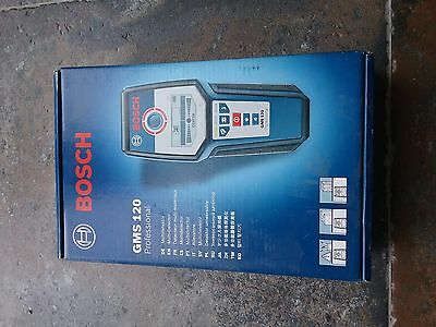Bosch Gms120 Professional Multi-Detector 0601081000 Bnib Free Uk Delivery
