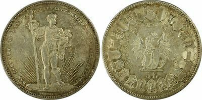 1879, Switzerland, Basel. Silver Shooting Thaler (5 Francs) Coin. PCGS MS-62