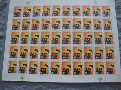 Lot of 5 Full Mint Sheets of 50 Stamps Each-Unies 1961-Scott 009799S