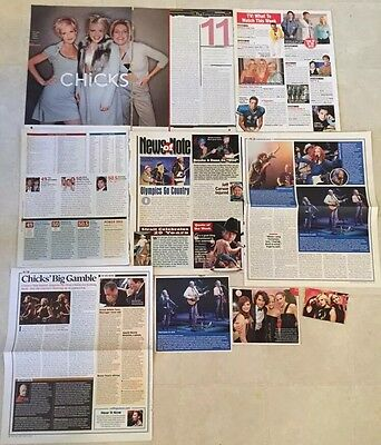 DIXIE CHICKS Rare Magazine Clippings Cuttings Natalie Maines Martie Emily
