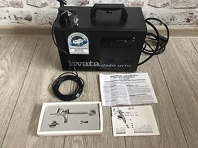 Iwata Studio Series Smart Jet Pro Air Compressor and Air Brush