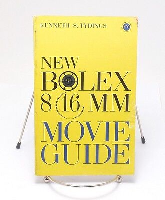 NEW BOLEX 8mm 16mm MOVIE GUIDE Manual Book Tydings Chilton 1962