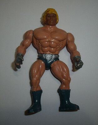 "He-Man ""power Laser"" Masters Of The Universe Motu Mattel Italy 1987"