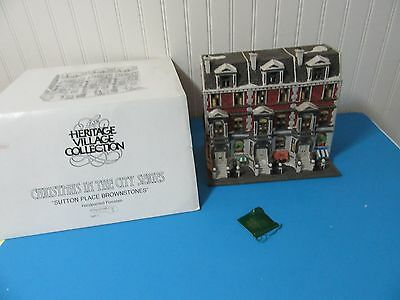 MIB Dept. 56 Christmas In The City Sutton Place Brownstones #5961-7 Retired
