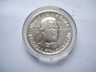 Booker T Washington 1946 Silver Half Dollar