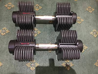 Bruce Lee Dumbells with stand