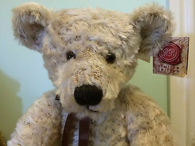 "Russ Berrie Bears From The Past Limited Edition Brentton Large 21"" Bear"