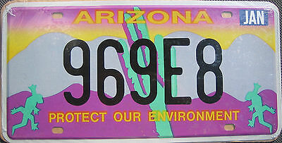 "Replica Arizona ""protect Our Environment"" License Plate"