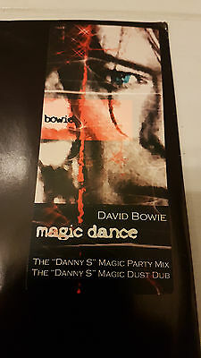 "David Bowie ‎– Magic Dance / Nocturnal Recordings ‎– DBD001 / 12"" Vinyl 2003"