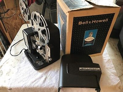 Vintage WORKING Bell & Howell 346  AutoLoad Super 8mm Movie Film Projector