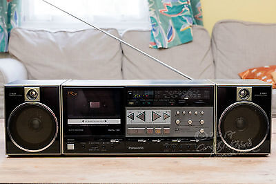 Panasonic RX-c52L Ghetto Blaster Stereo System vintage component 1980s