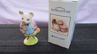 Royal albert beatrix potter pigling bland 09022 Excellent boxed beswick