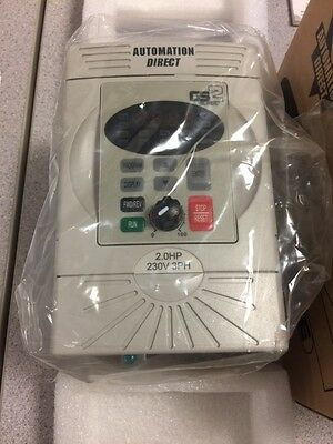 Automation Direct GS2 2HP 230V 3PH Variable Frequency Drive Model GS2-22P0