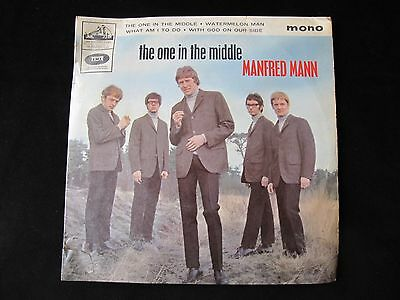 """Manfred Mann - The One In The Middle - 7"""" Single - Vinyl 45RMP"""