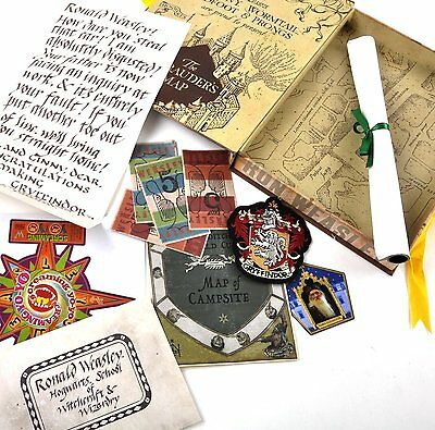 Harry Potter: Ron Weasley Artefact Box Dumbledore Card + More Boxed Set NEW!