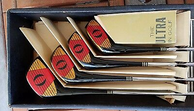 Vintage Walter Hagen Golf Club Set Model 66430 In Original Box