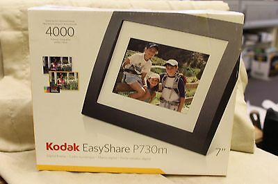 "Kodak EasyShare P730 7"" Digital Photo Picture LCD Frame Store 4000 Photo"