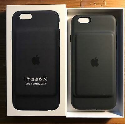 iphone smart case apple iphone 6s smart battery charcoal grey brand 12325