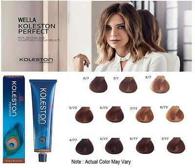 Wella Koleston Perfect Permanent Professional Hair Color 60 ml - DEEP BROWNS