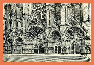 a463 / 263 18 - BOURGES cathedrale  le portailoccidental