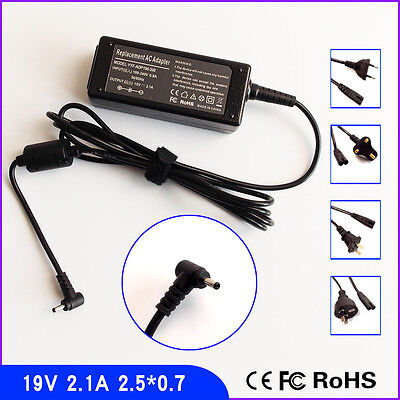 New AC Power Supply Charger Adapter for ASUS Mini Eee PC 19V 2.1A 2.5x0.7mm