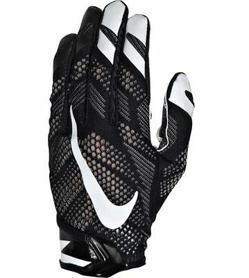 NWT Vapor Knit Football Gloves Size Small Black MSRP $60 GF0386-001