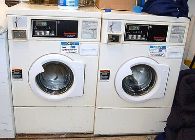 Speed Queen Front Load Washer Horizon 120V SWFB61 White Used WELL MAINTAINED