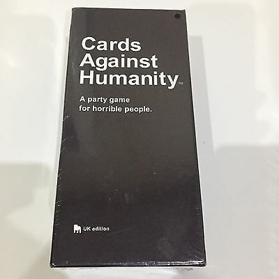 Cards Against Humanity UK Edition -Card Game Sealed