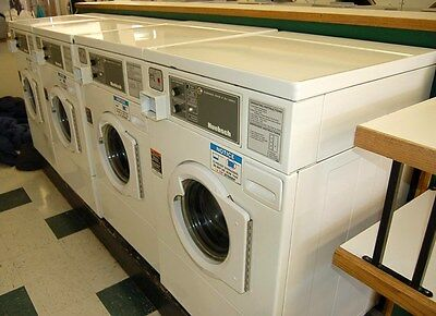 HUEBSCH Speed Queen Front Load Washer 120V HWF261WH White Used WELL MAINTAINED