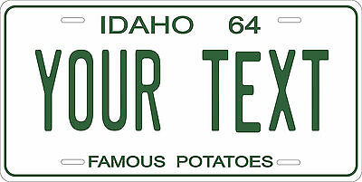 Idaho 1964 License Plate Personalized Custom Auto Bike Motorcycle Moped Key Tag