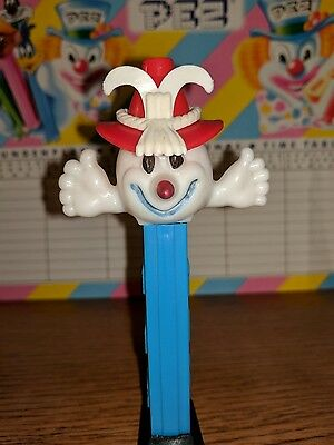 Vintage No Feet Pez Olympic Snowman Long Cone Nose