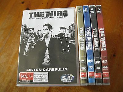 The Wire Complete Series DVD Season 1,2,3,4,5