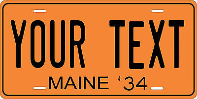 Colorado 1934 License Plate Personalized Custom Car Bike Motorcycle Moped Tag