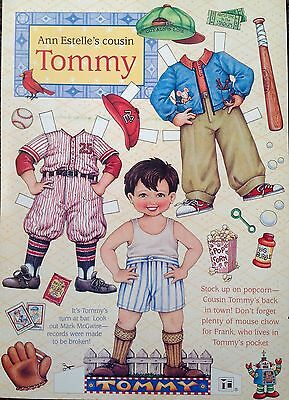 Mary Engelbreit Mag. Paper Doll, TOMMY, April/May 1999, Uncut