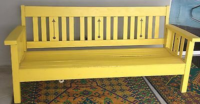 Arts & Crafts era Bench Charles Limbert Mission Southwest style