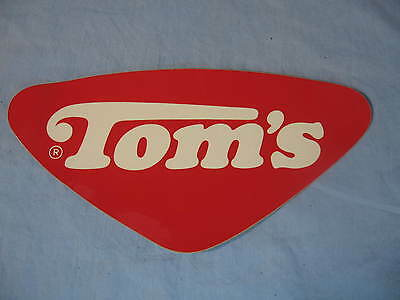 Tom's Toasted Peanuts Decal