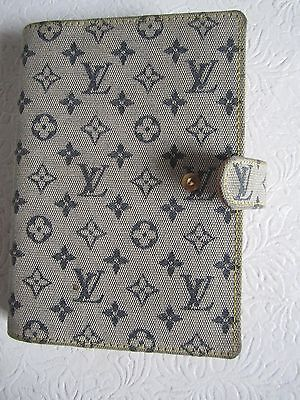 Louis Vuitton Agenda - Day Planner - Monogram Mini Lin Ca0090 #410