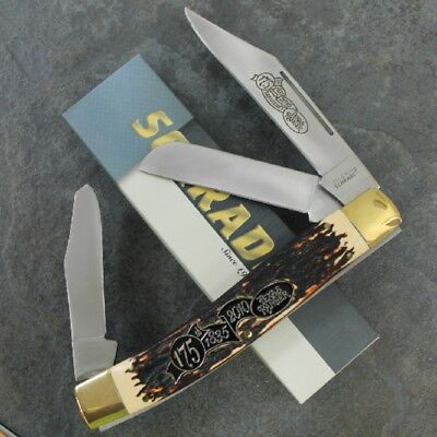 New Schrade Giant 175th Anniversary Ranger Giant Old Timer Folding Knife 34OT Fr